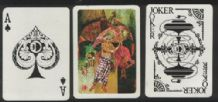 Collectible Advertising  playing cards  MAS Malaysian Airlines